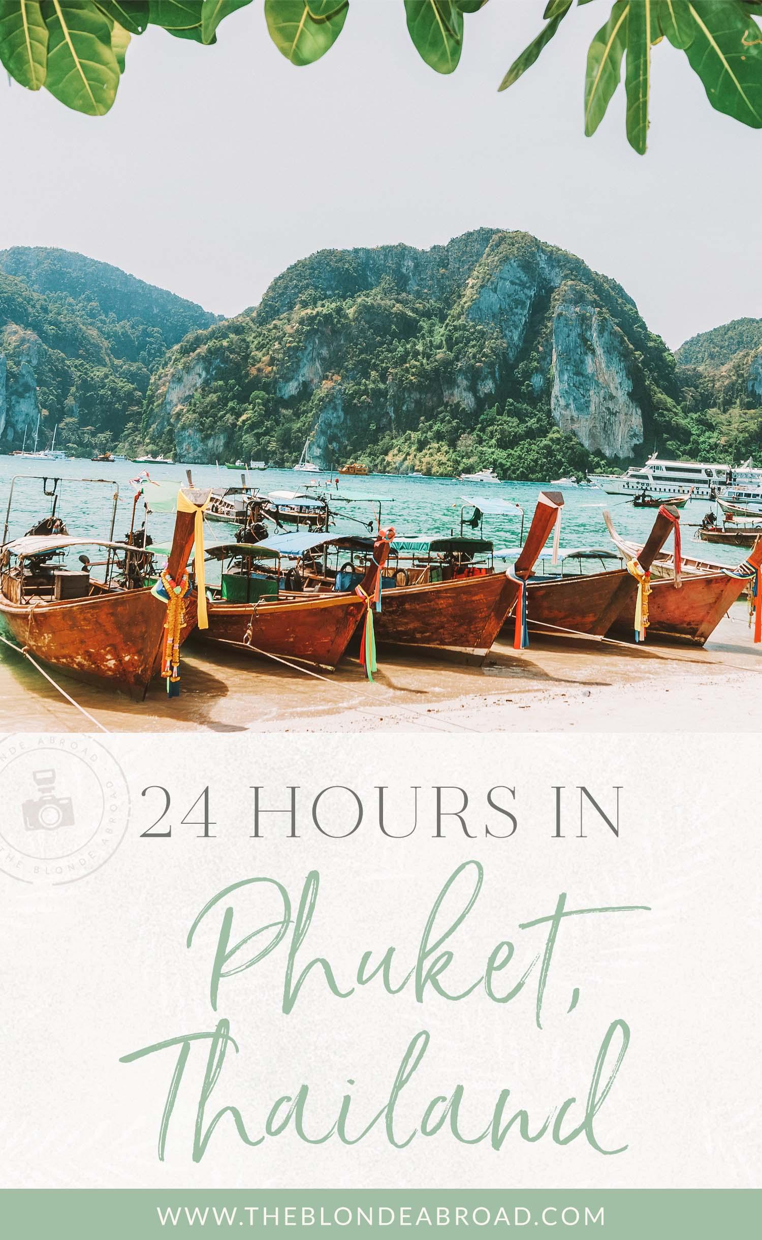 24 hours in phuket thailand