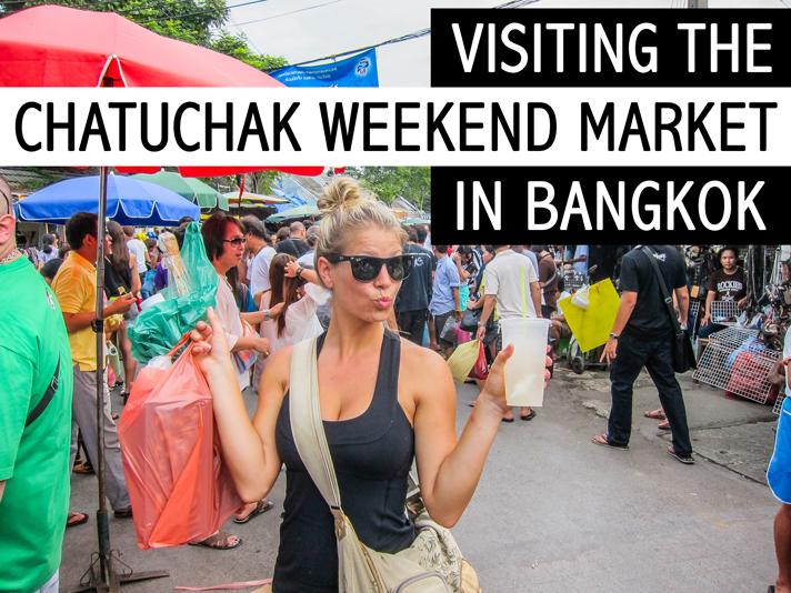 Shopping in Chatuchak Market