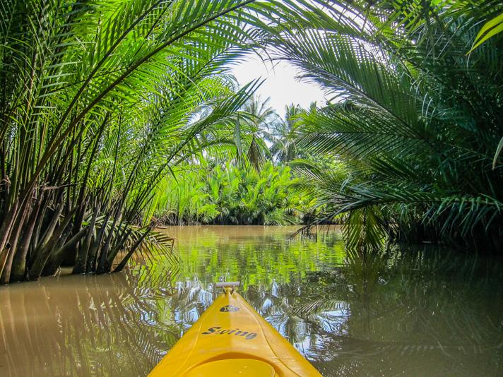 Kayaking in Kampot