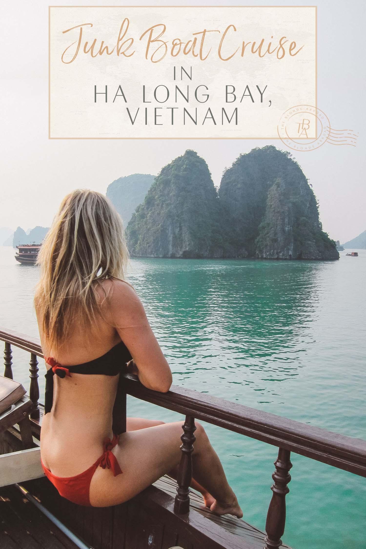 ha long bay junk cruise vietnam