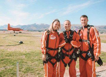 Skydive Wakana Queenstown New Zealand