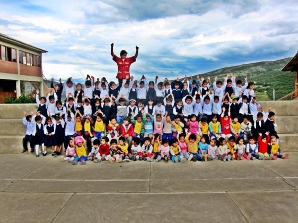 Visiting Proyecto Horizonte in Bolivia
