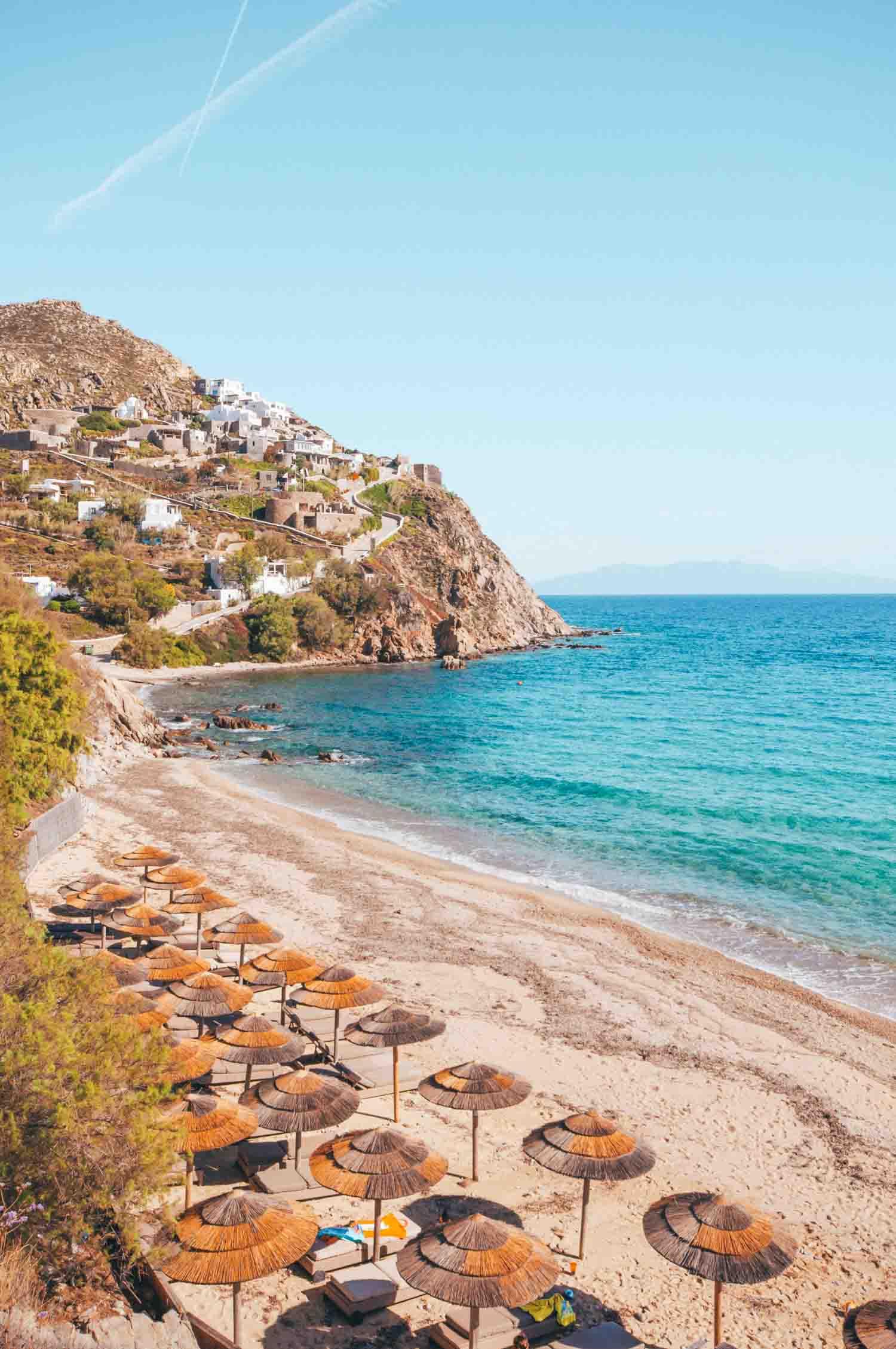 Elia Beach Greece Mykonos