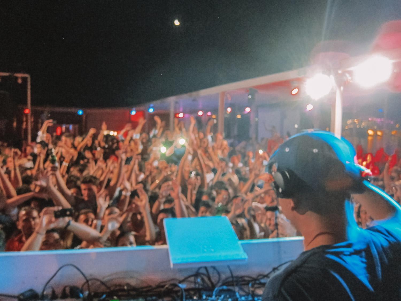 DJ in Mykonos