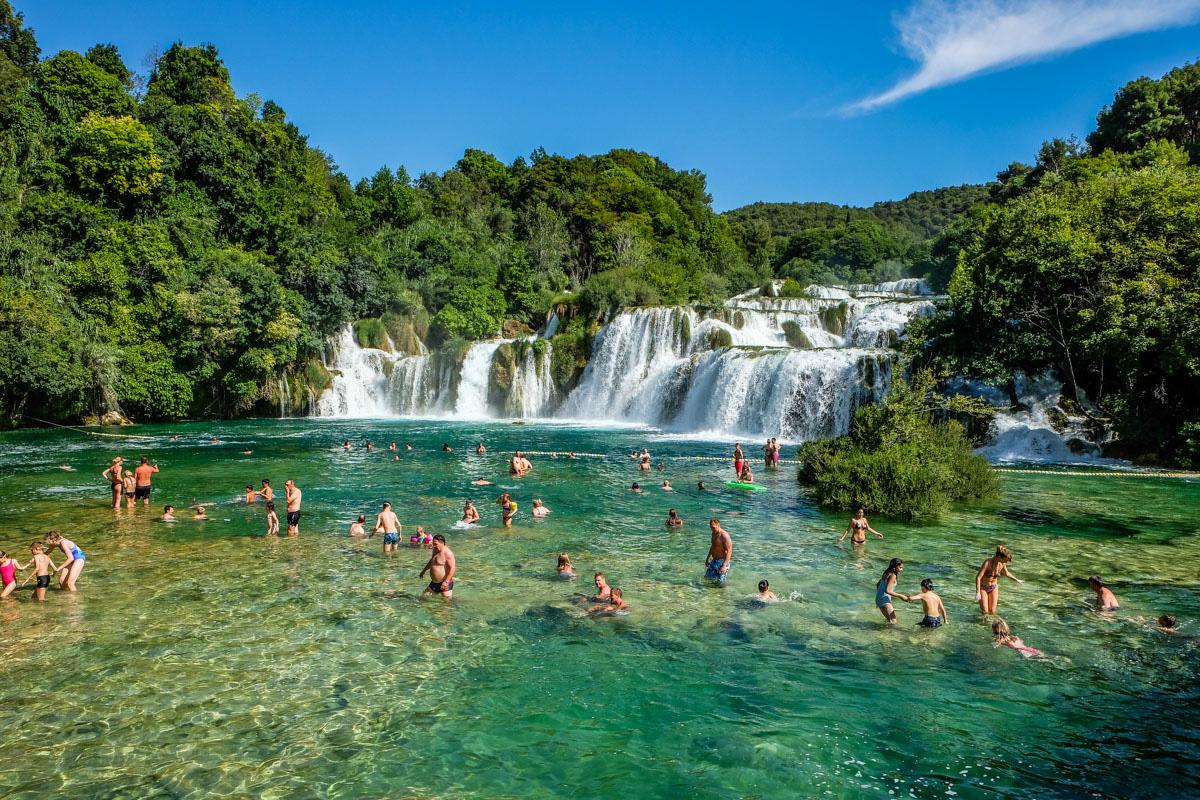 Visiting Krka National Park In Croatia The Blonde Abroad