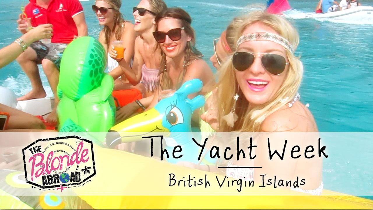 VIDEO: The Yacht Week British Virgin Islands
