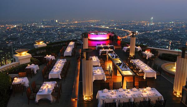 Sirocco, Lebua Hotel, Bangkok, Thailand