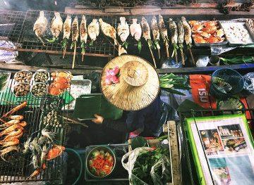 Thailand Street food Vendor