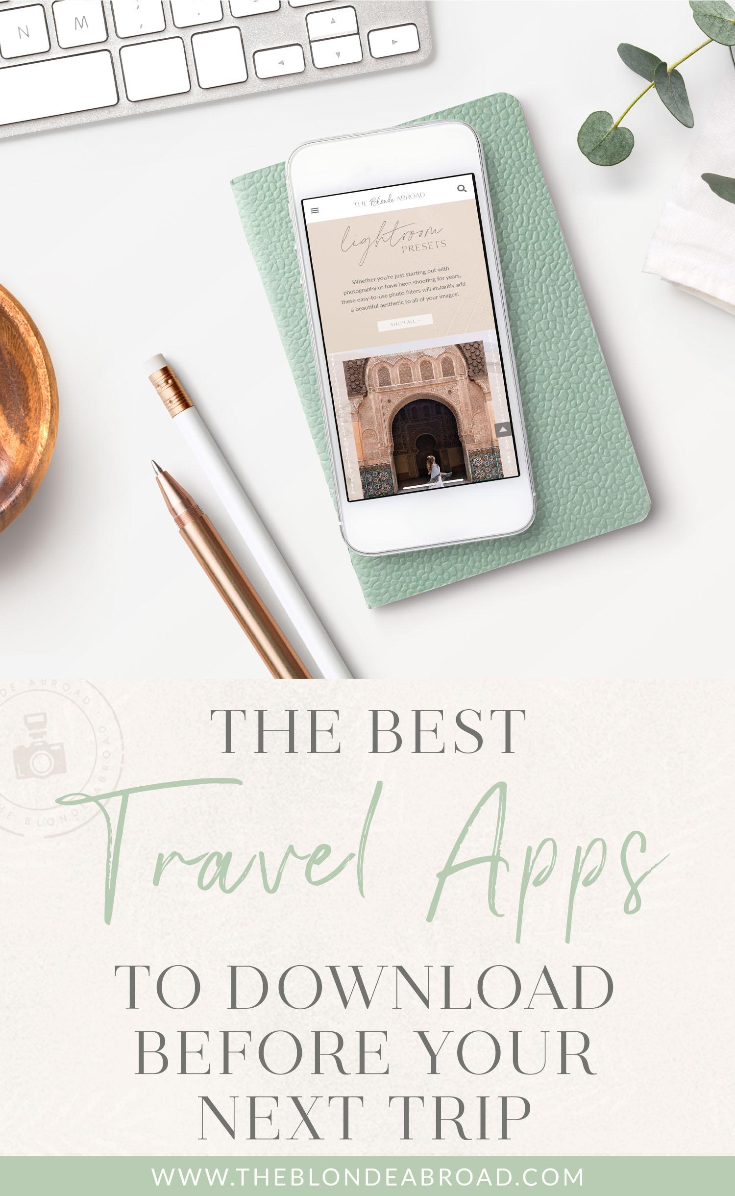 Best Travel Apps Next Trip
