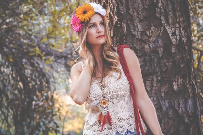 Coachella Flower Crown