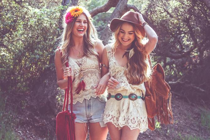 Coachella Friends Fashion