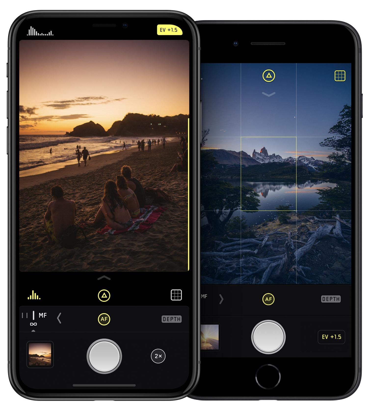 halide app photography iphone