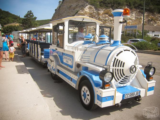 Train in Bonifacio