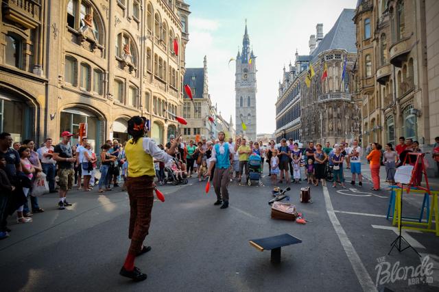 Jugglers at Gentse Feesten