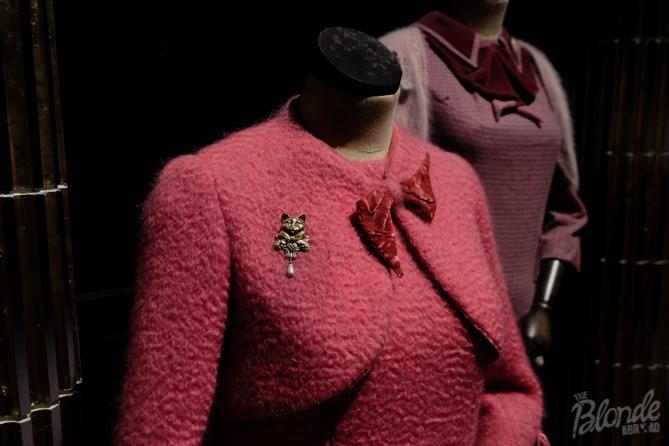 Professor Umbridge's dress- again, the detail is amazing!