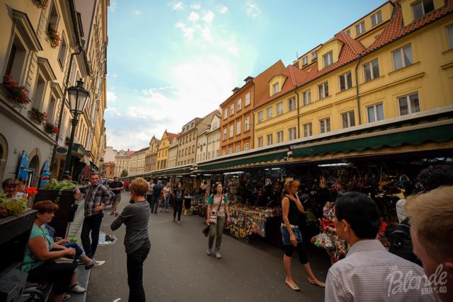 Prague market