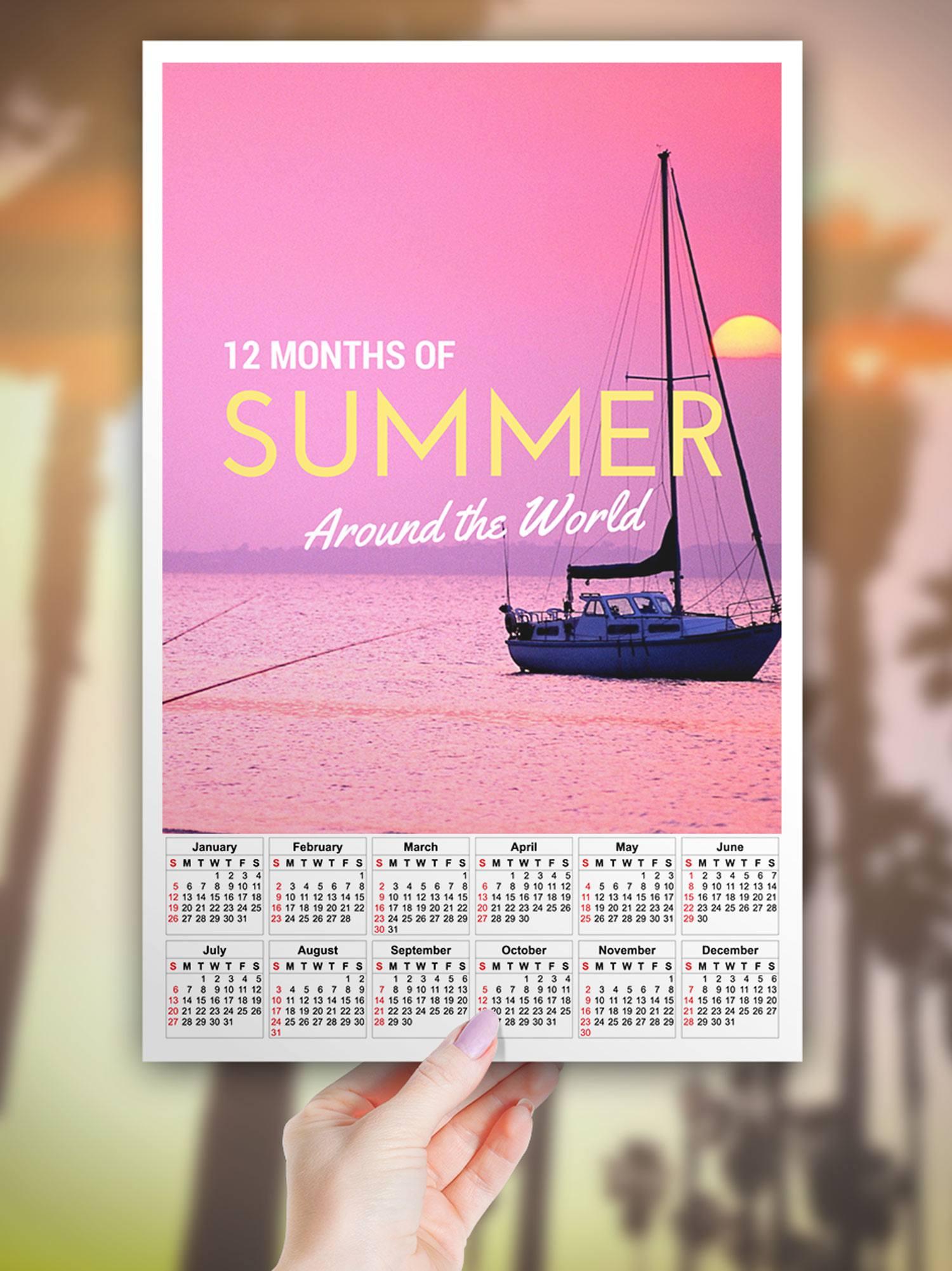 12 Months of Summer Around the World