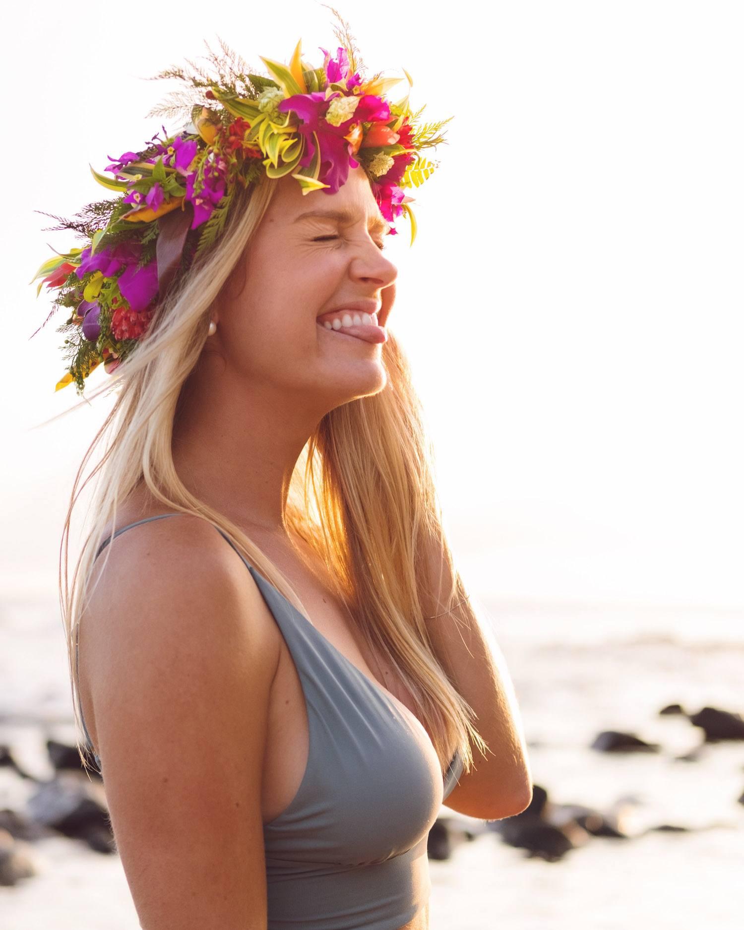 Blonde in Hawaii