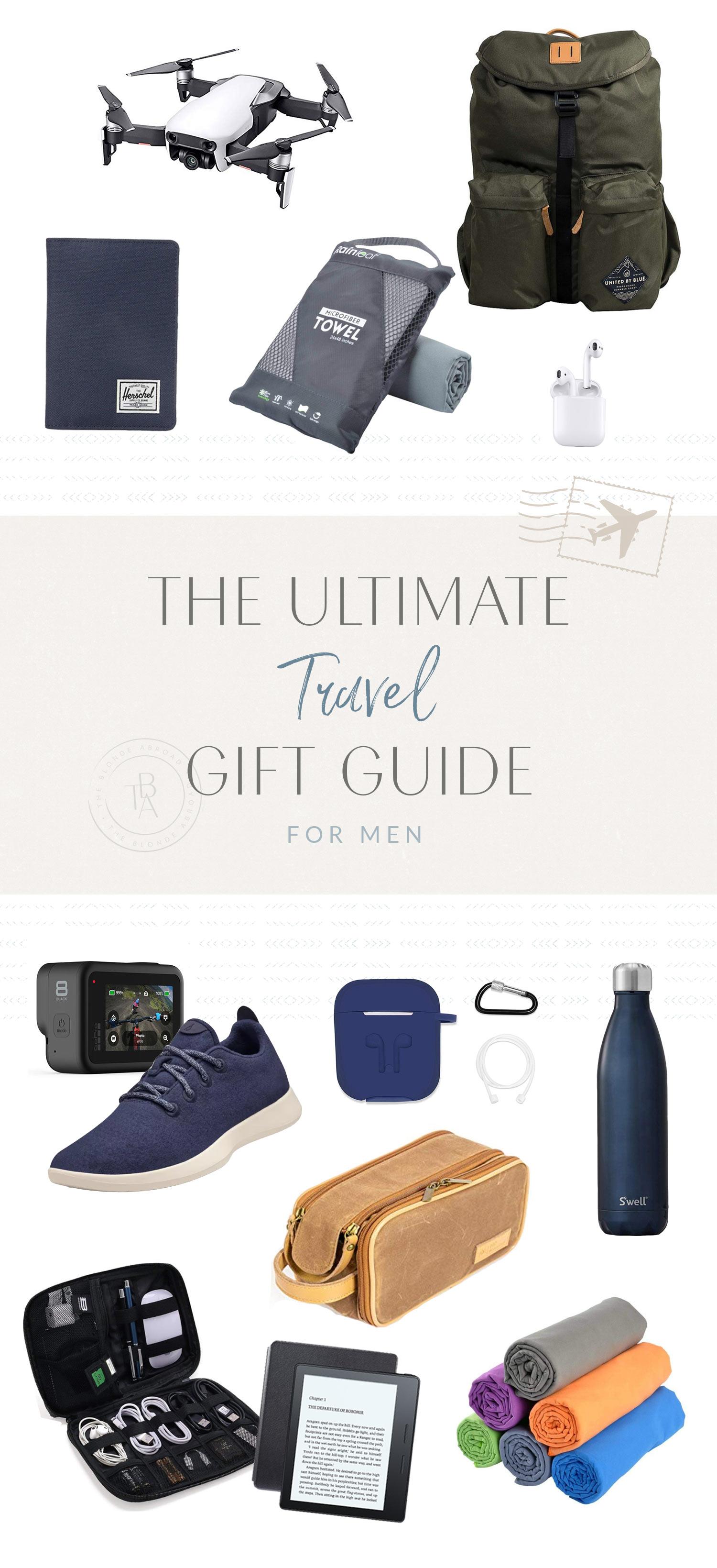Ultimate Travel Gift Guide for Men