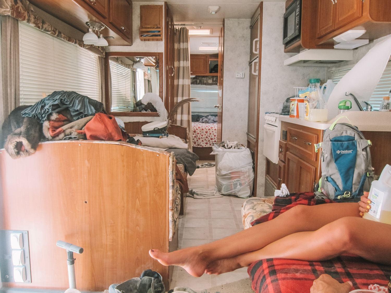 Camping at Burning Man