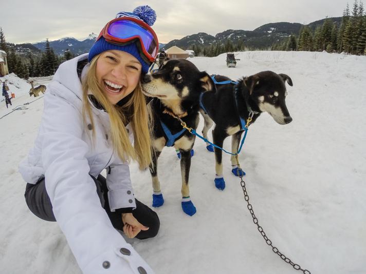 Dog Sledding Whistler