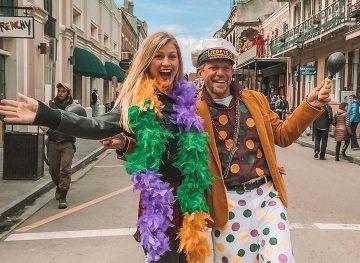 new orleans mardi gras blonde