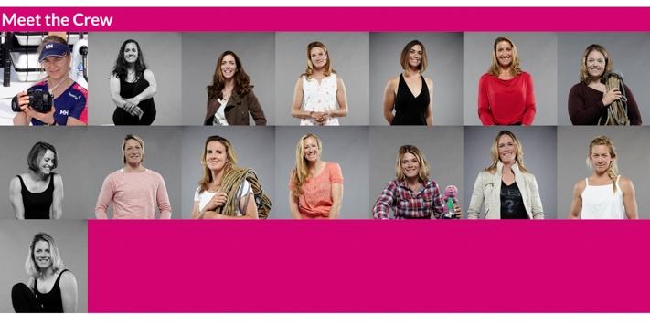 Team SCA All-Female Racing Team in Volvo Ocean Race