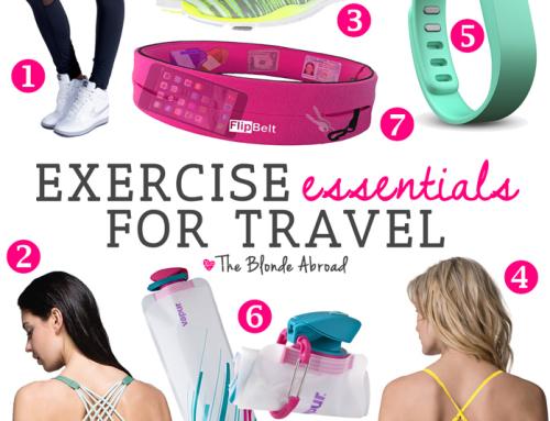 Exercise Essentials for Travel
