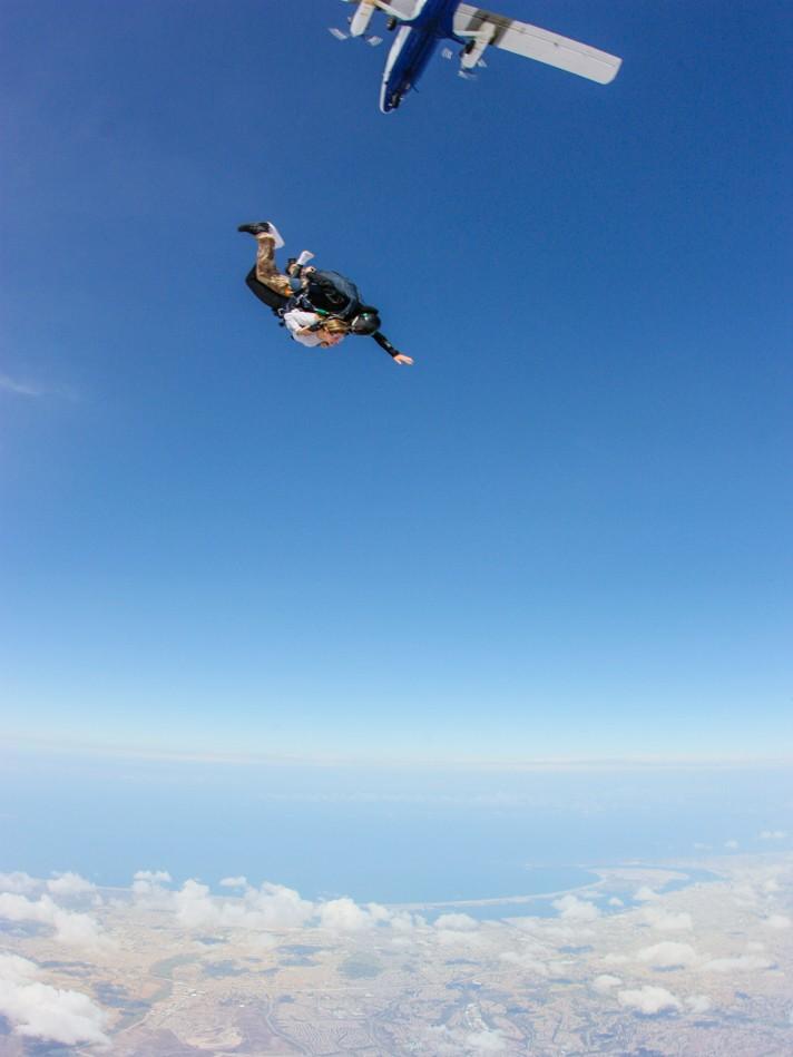 Skydiving San Diego