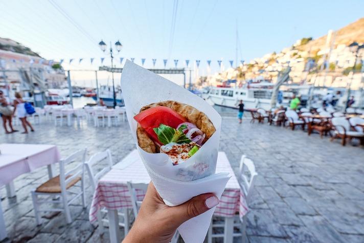Gyro in Greece