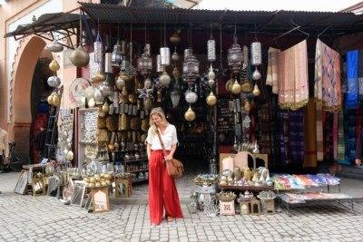 Solo Female Traveler in Marrakech