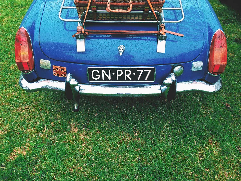 vintage UK Car