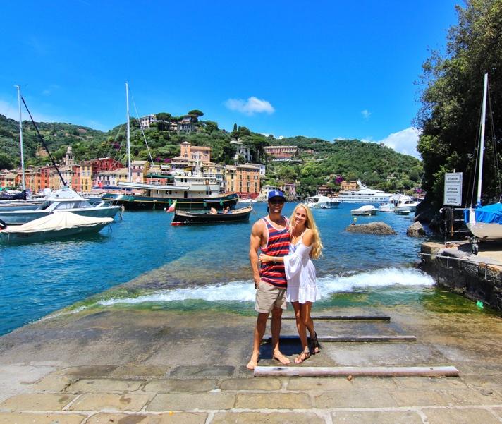 Couple in Portofino