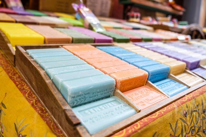Nice, France Soap in Market