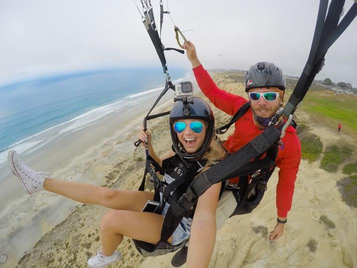 Paragliding in Torrey Pines San Diego