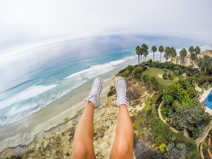 Paragliding Feet Torrey Pines
