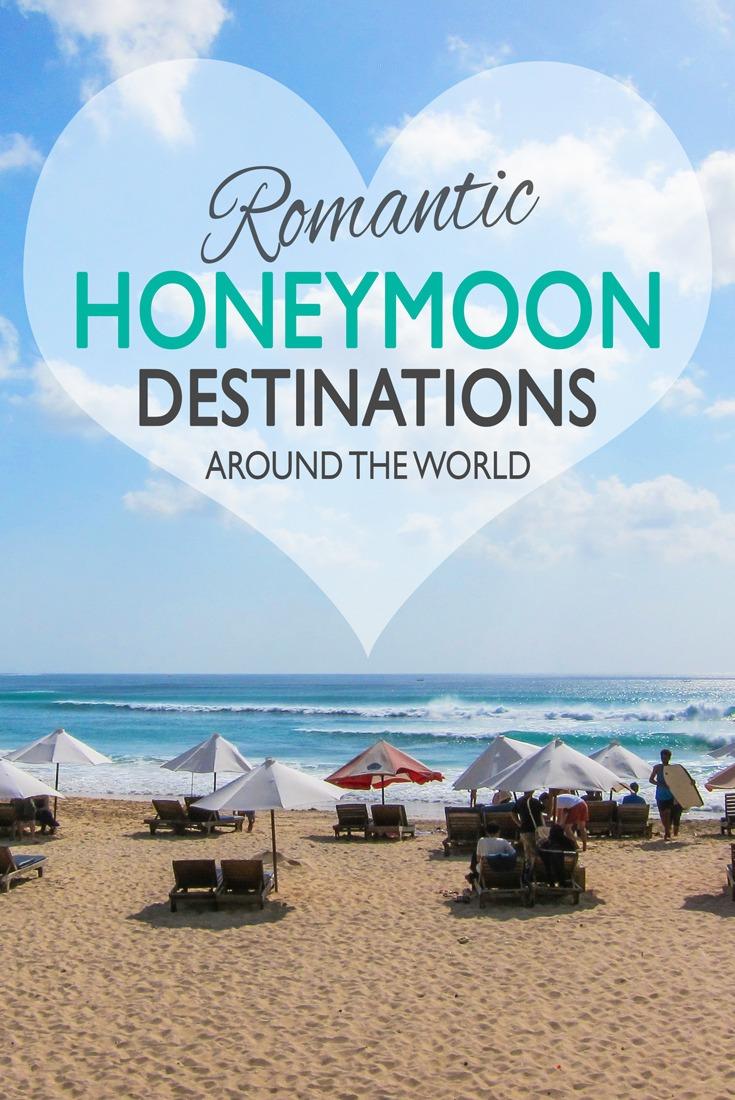 Romantic Honeymoon Destinations Around the World
