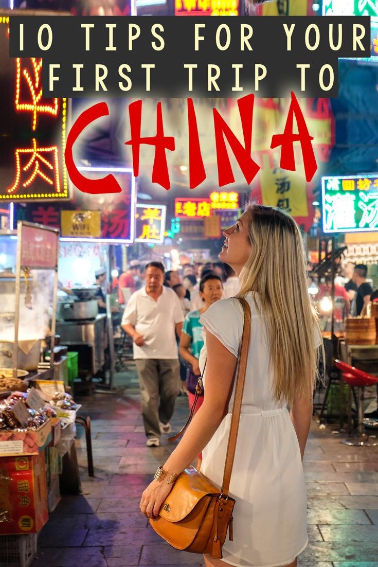 First Trip China