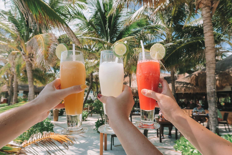 Drinks in Riviera Maya