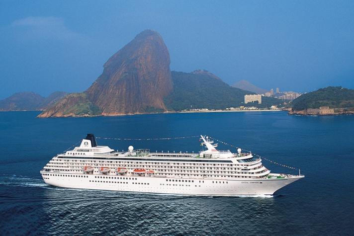San Juan to Rio de Janeiro on Crystal Symphony