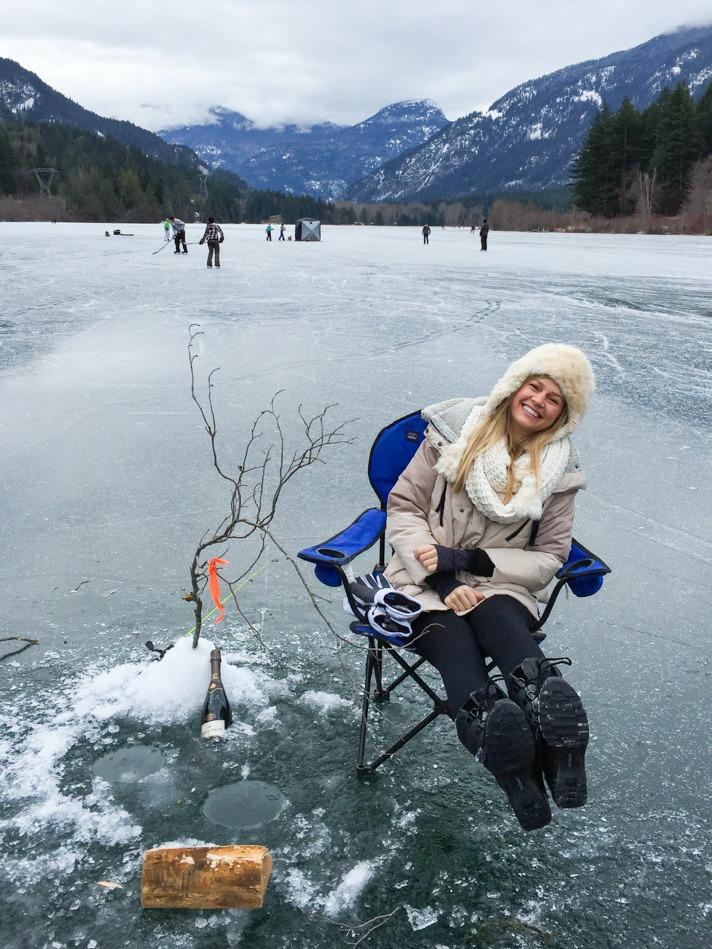 Ice Fishing in Whistler