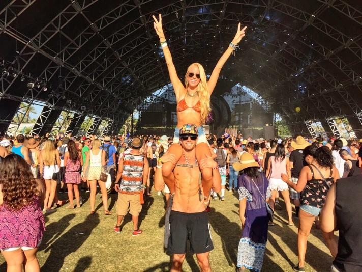 Coachella as a Couple