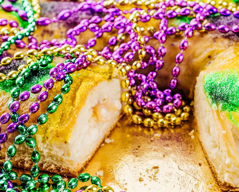 kings cake in new orleans