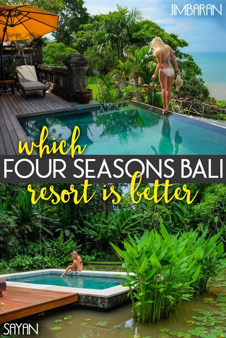 Four Seasons Bali Resorts