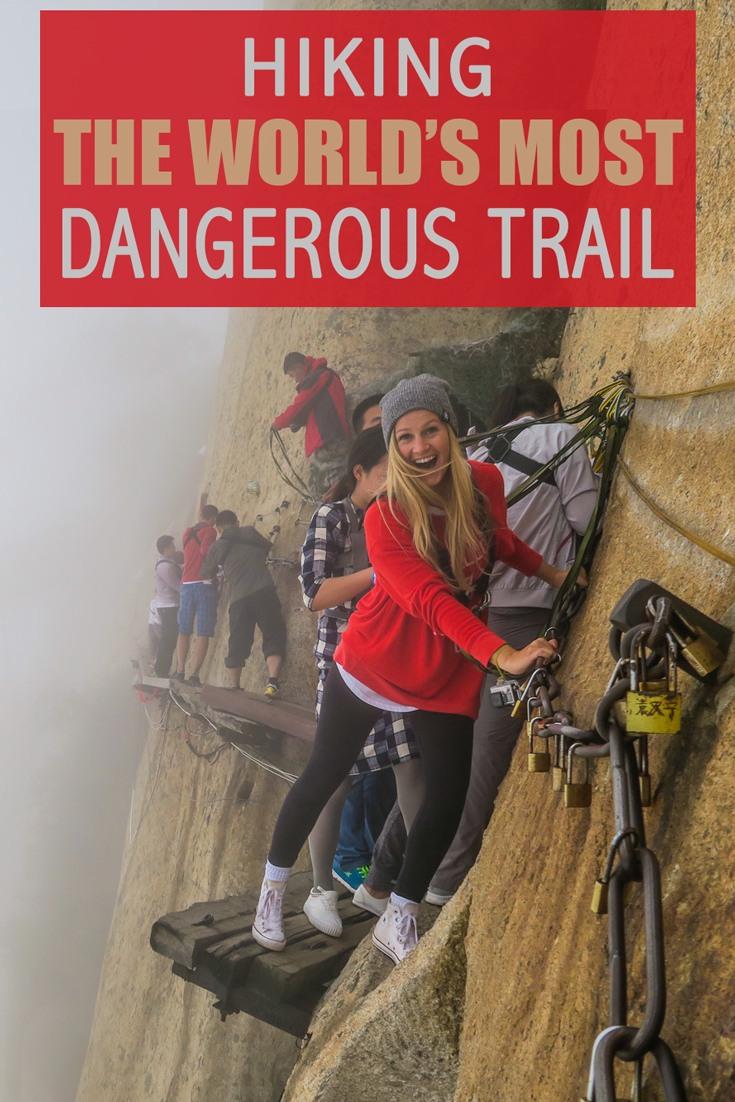 Mt-Huashan World's Most Dangerous trail