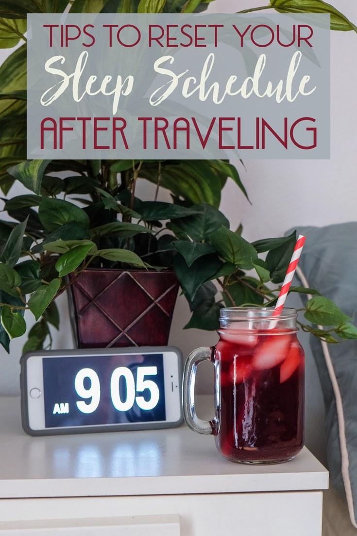 Reset Sleep After Travel
