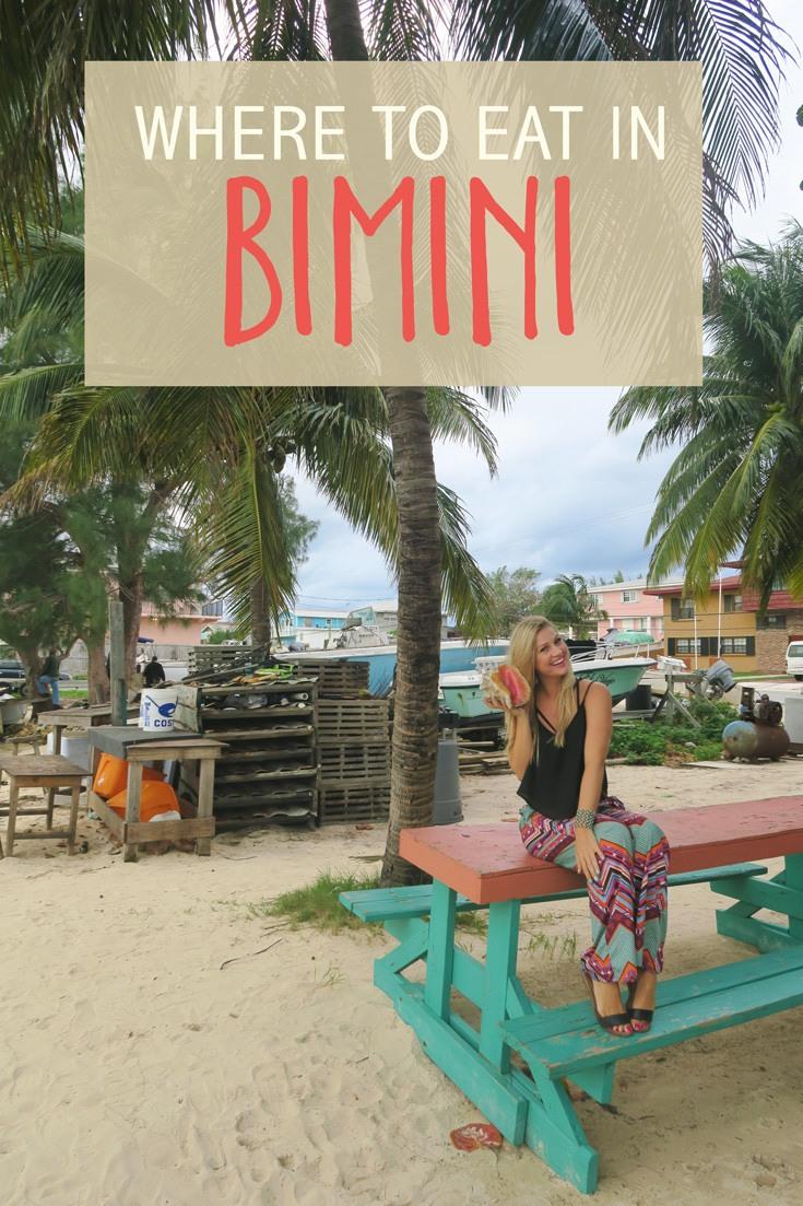 Where to Eat in Bimini