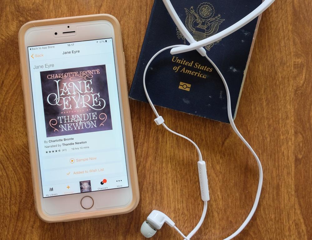 My Travel Audiobook Playlist on Audible