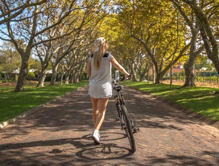 Biking Stellenbosch