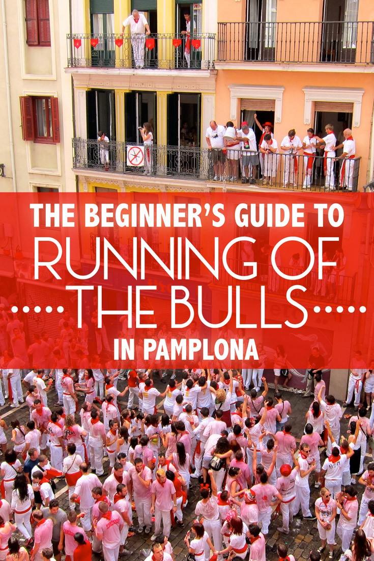 Beginner Guide Running of the Bulls